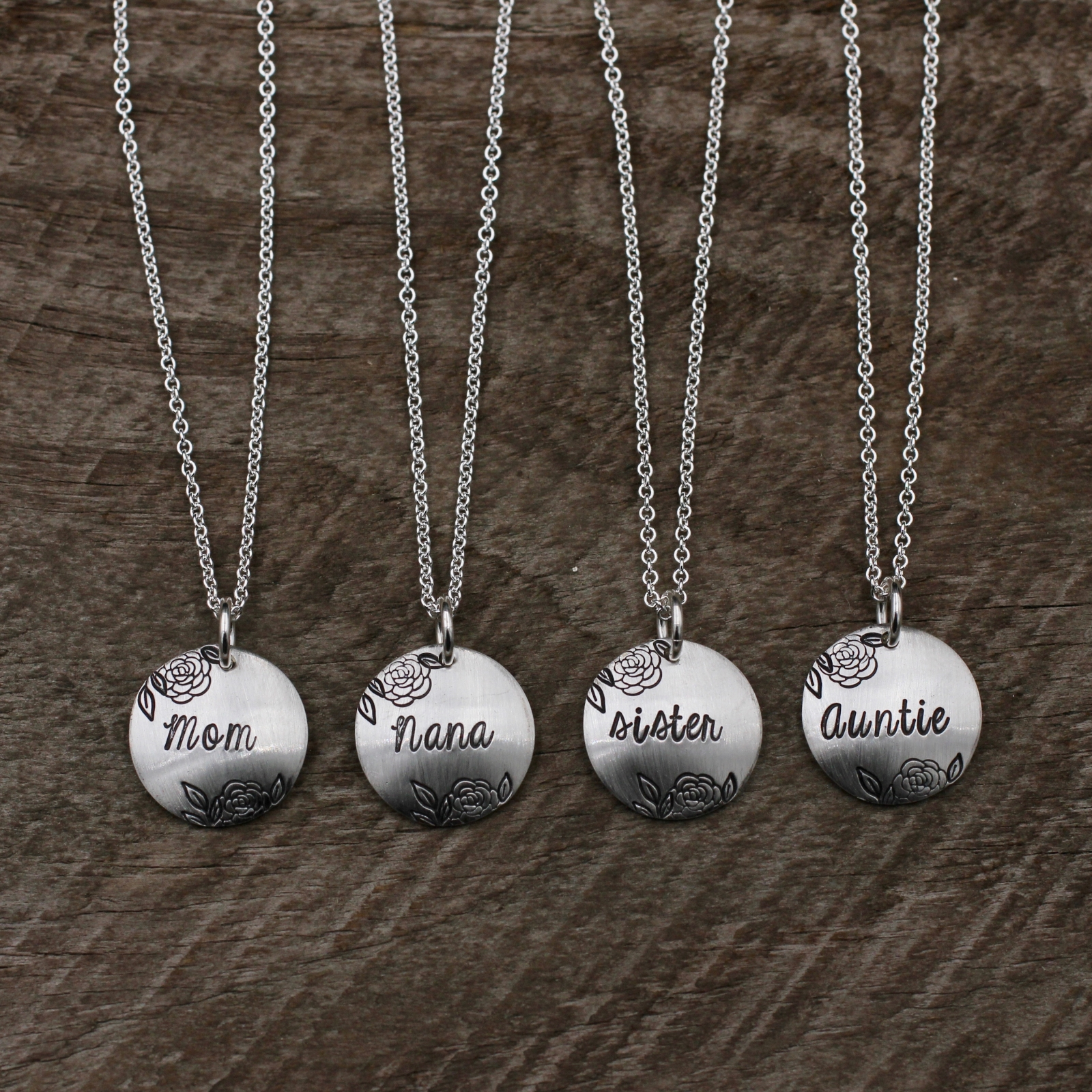 necklace family sterling apotie silver products jewelry